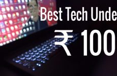 Top 7 Gadgets That You Can Buy In 100 Rupee Only